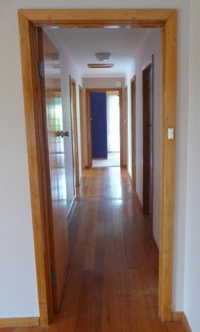 2.timber hallway