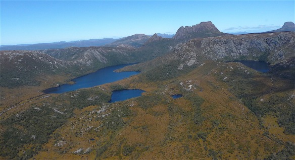 11.Dove Lake, Lake Lilla & Wombat Pool