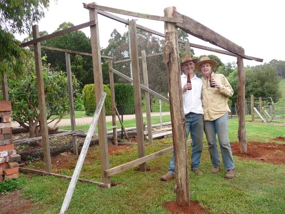 1.shed frame