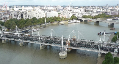 7.Hungerford Bridge
