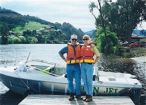Huon River, Tasmania, November 1998