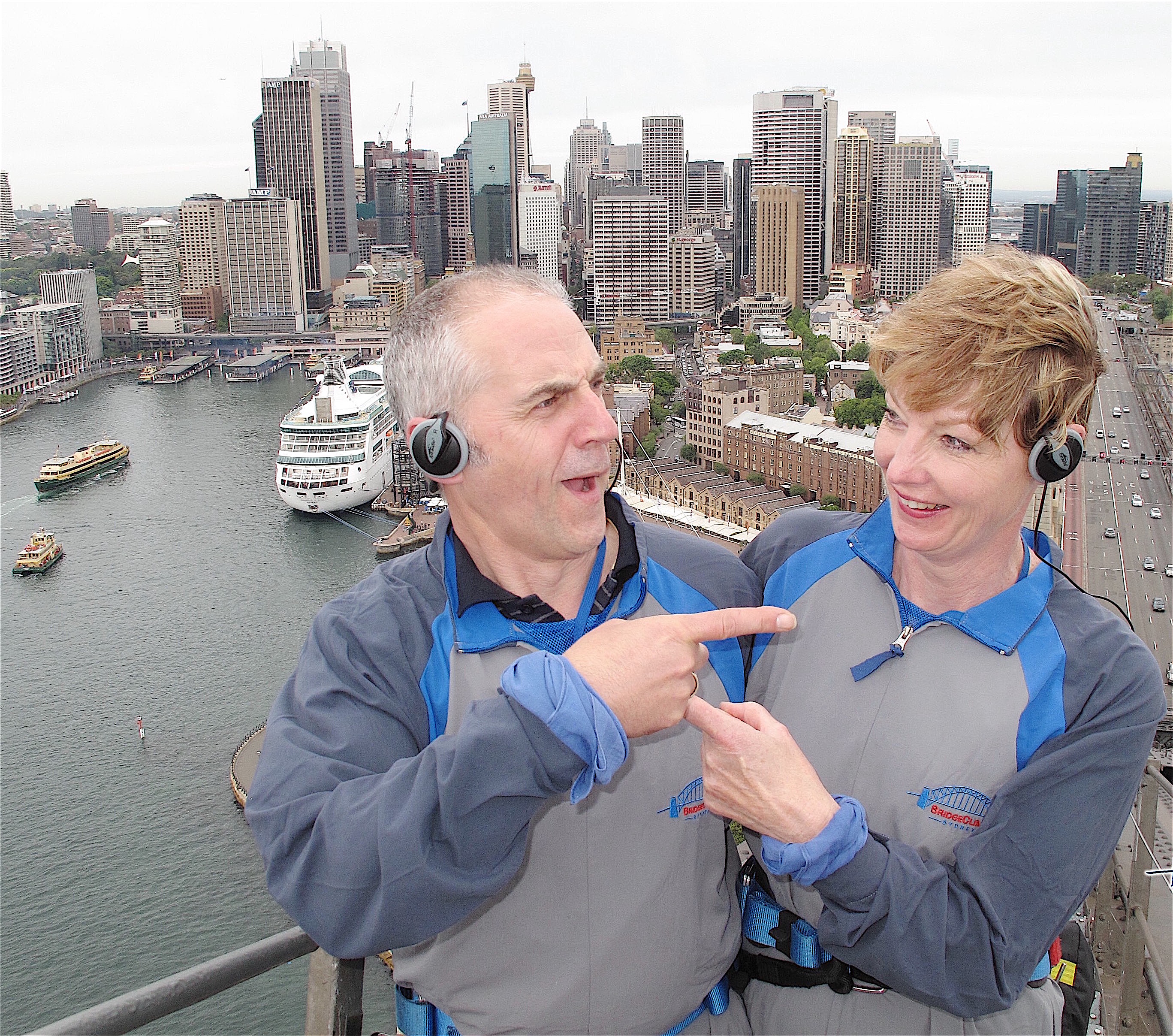 36.Harbour Bridge climb,Sydney 12.10