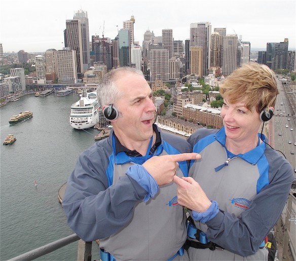 36.Harbour Bridge climb,Sydney 12.10