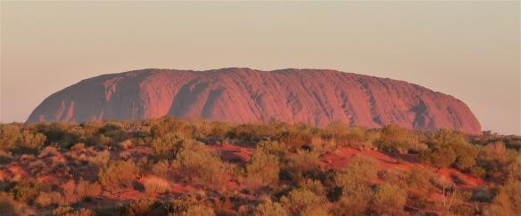 4.Uluru sunset
