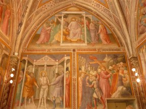 77.Sacristy of the Chapel of San Nicolò