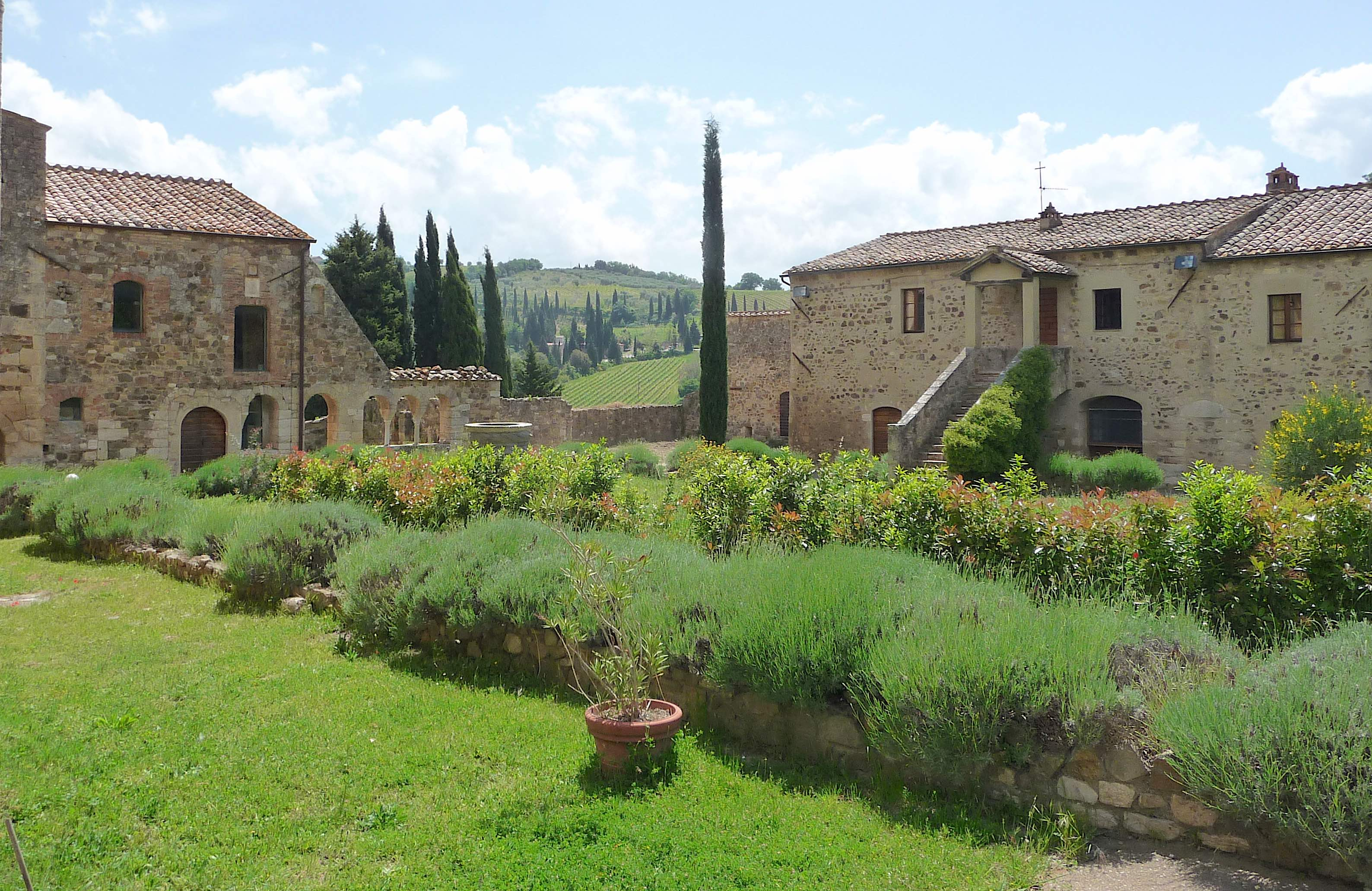Sant Antimo Abbey Cannonhillchronicles