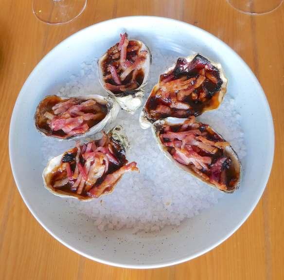 15.oysters kilpatrick