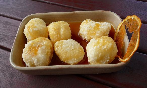 8.Fried Goats Cheese