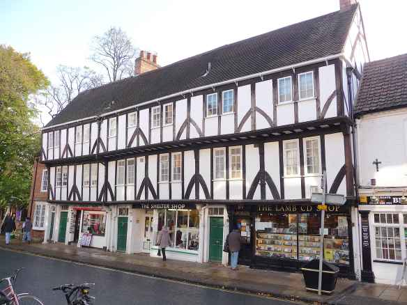 1.Shops on Micklegate