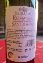 19.Terre Forti Romagna Sangiovese 2012
