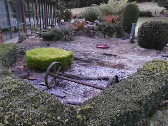 4.frosty garden