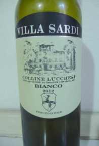 5.Villa Sardi Bianco 2012