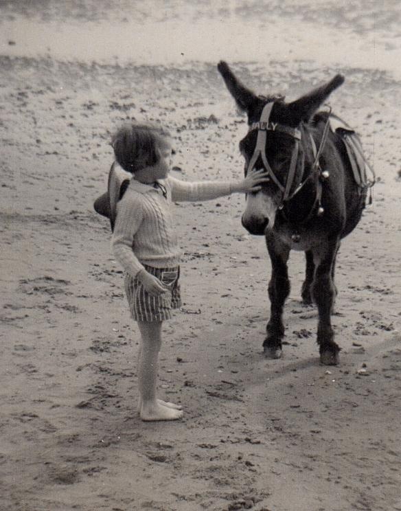 1.me & Sally the donkey