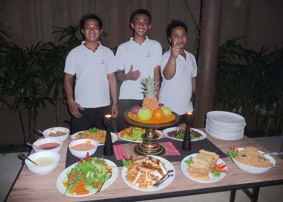 30.our villa staff