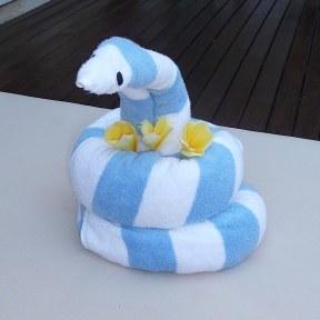 36.towel snake