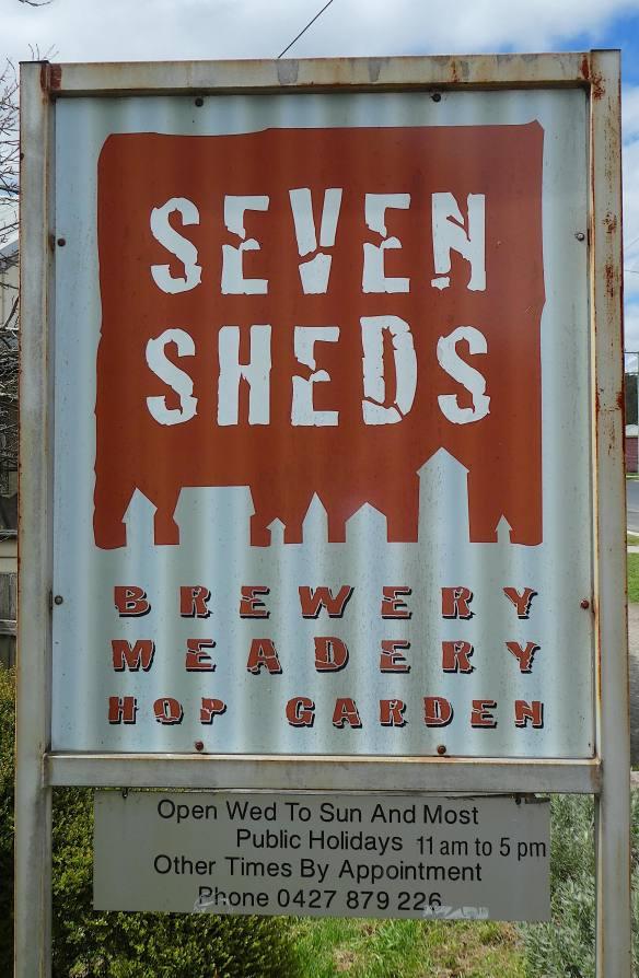 1.Seven Sheds