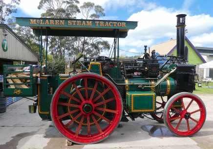 11.McLaren steam tractor