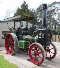 12.McLaren steam tractor