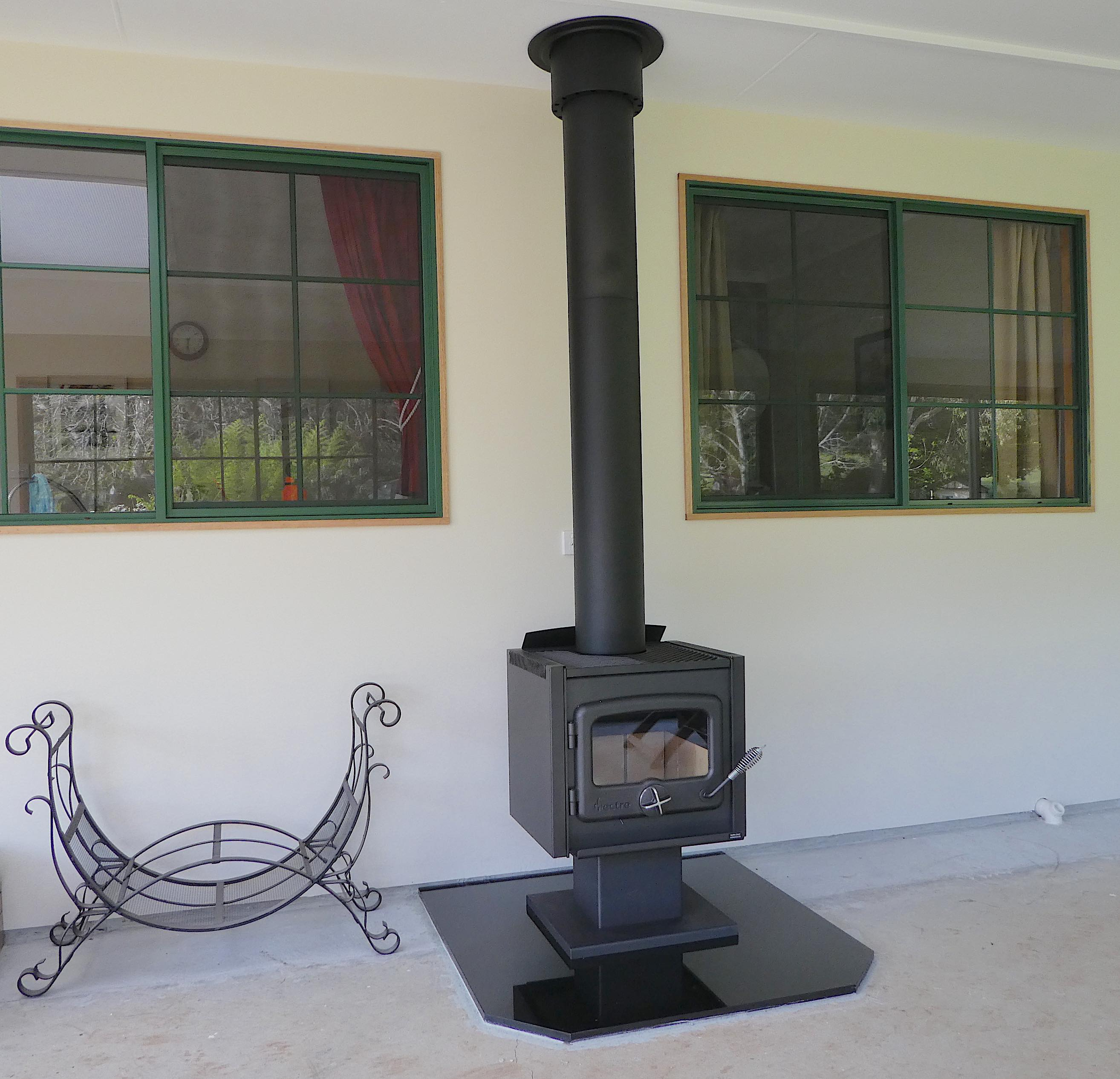 32.wood heater