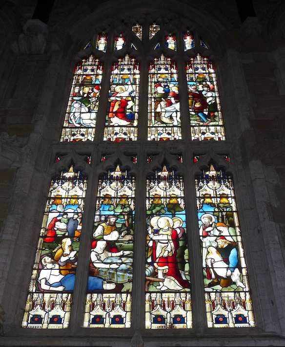 5.stained glass windows