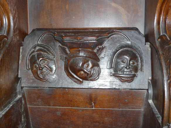 7.carvings on misericord seats
