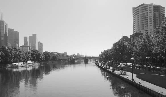 14.Yarra River, Princes Bridge