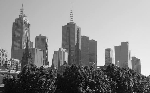 16.Melbourne skyline
