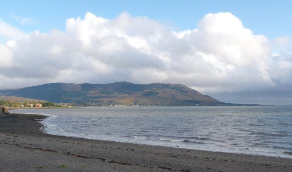2.Warrenpoint Beach looking east