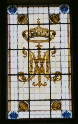 14.stained glass window