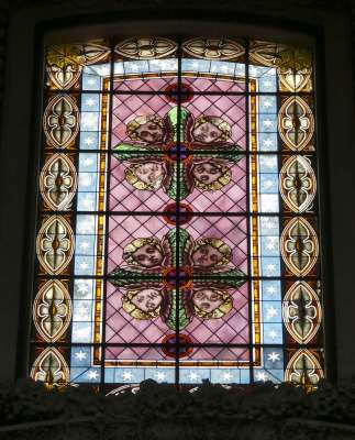 16.stained glass window