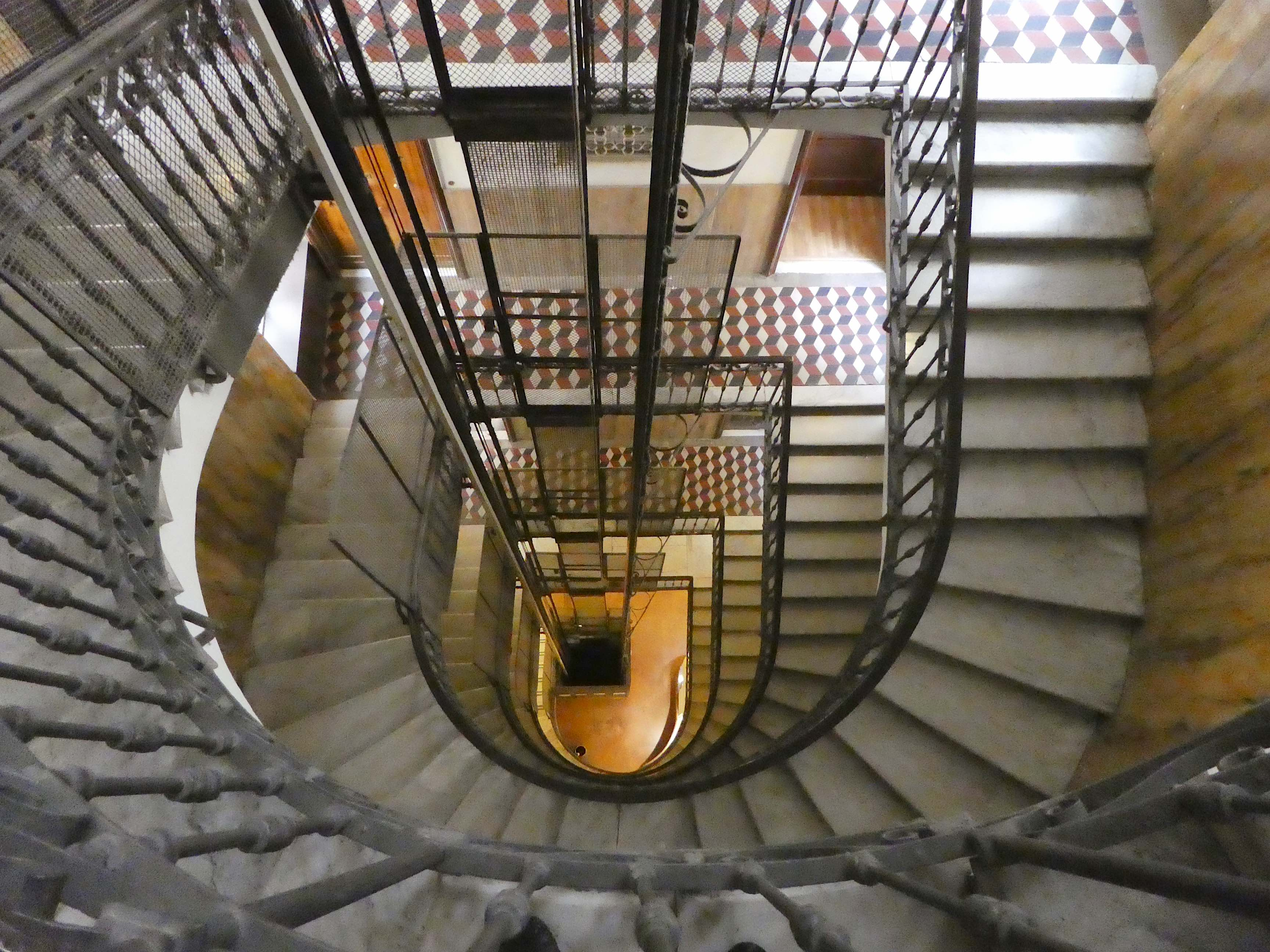 4.staircase looking down