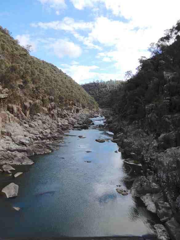 21.Cataract Gorge upstream