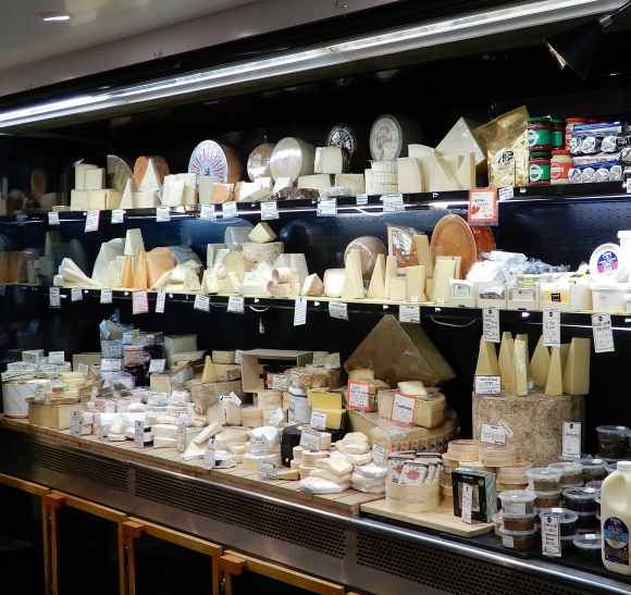 36.The Smelly Cheese Shop