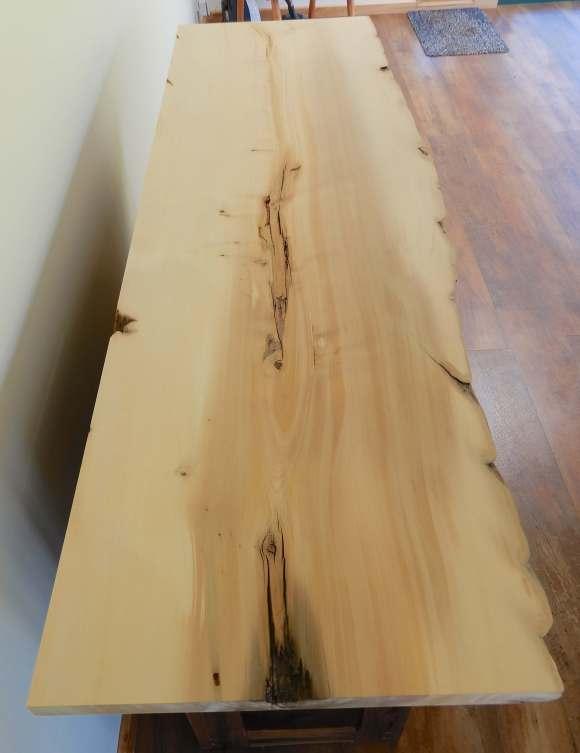 14.huon pine top