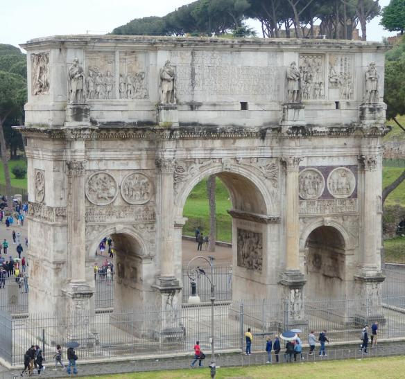 2.The Arch of Constantine