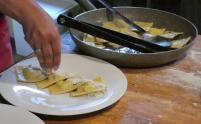 55.plating ravioli