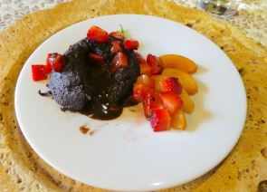 62.chocolate lava cake