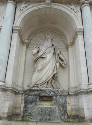 1.moses statue,fontana dell'acqua felice