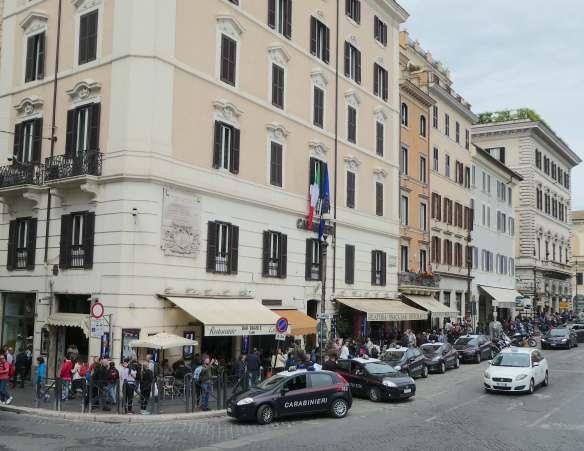 26.carabinieri, piazza venezia