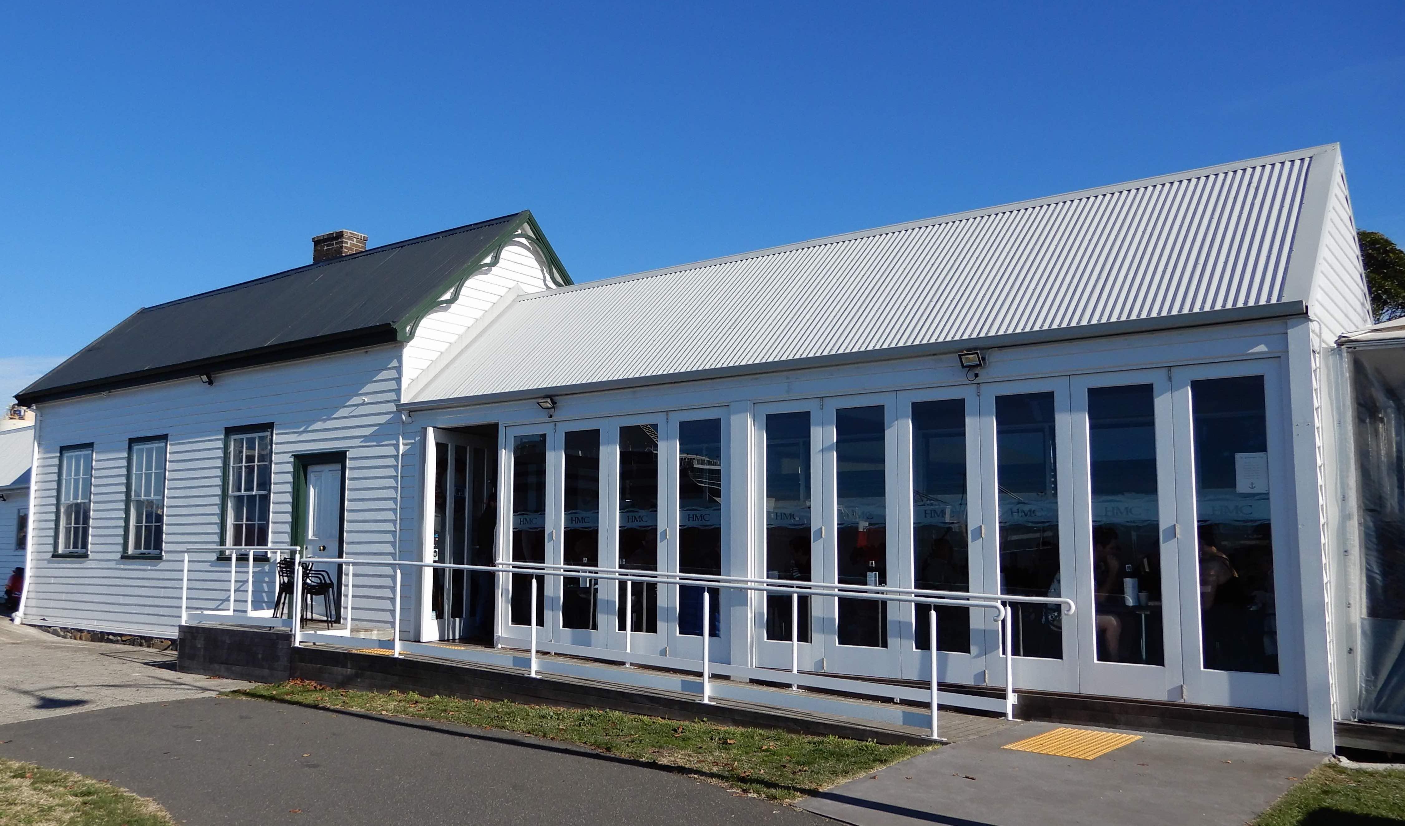 1.Harbourmaster Cafe