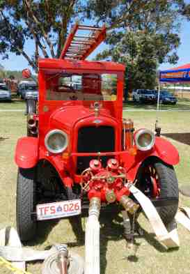 30.vintage fire engine