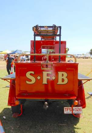 32.vintage fire engine