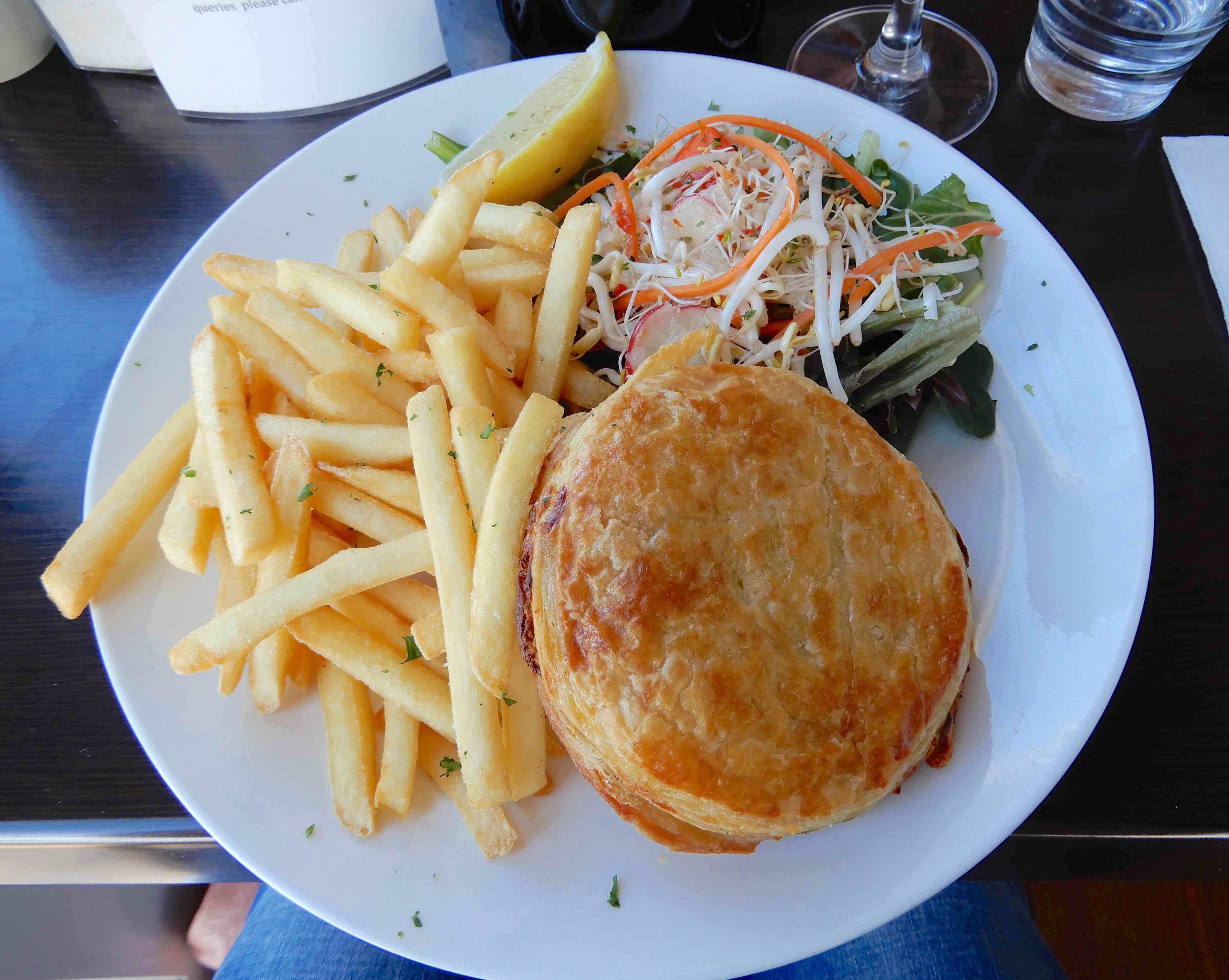 4.scallop pie
