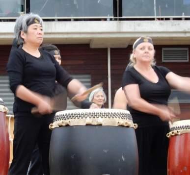 13.Taiko drums