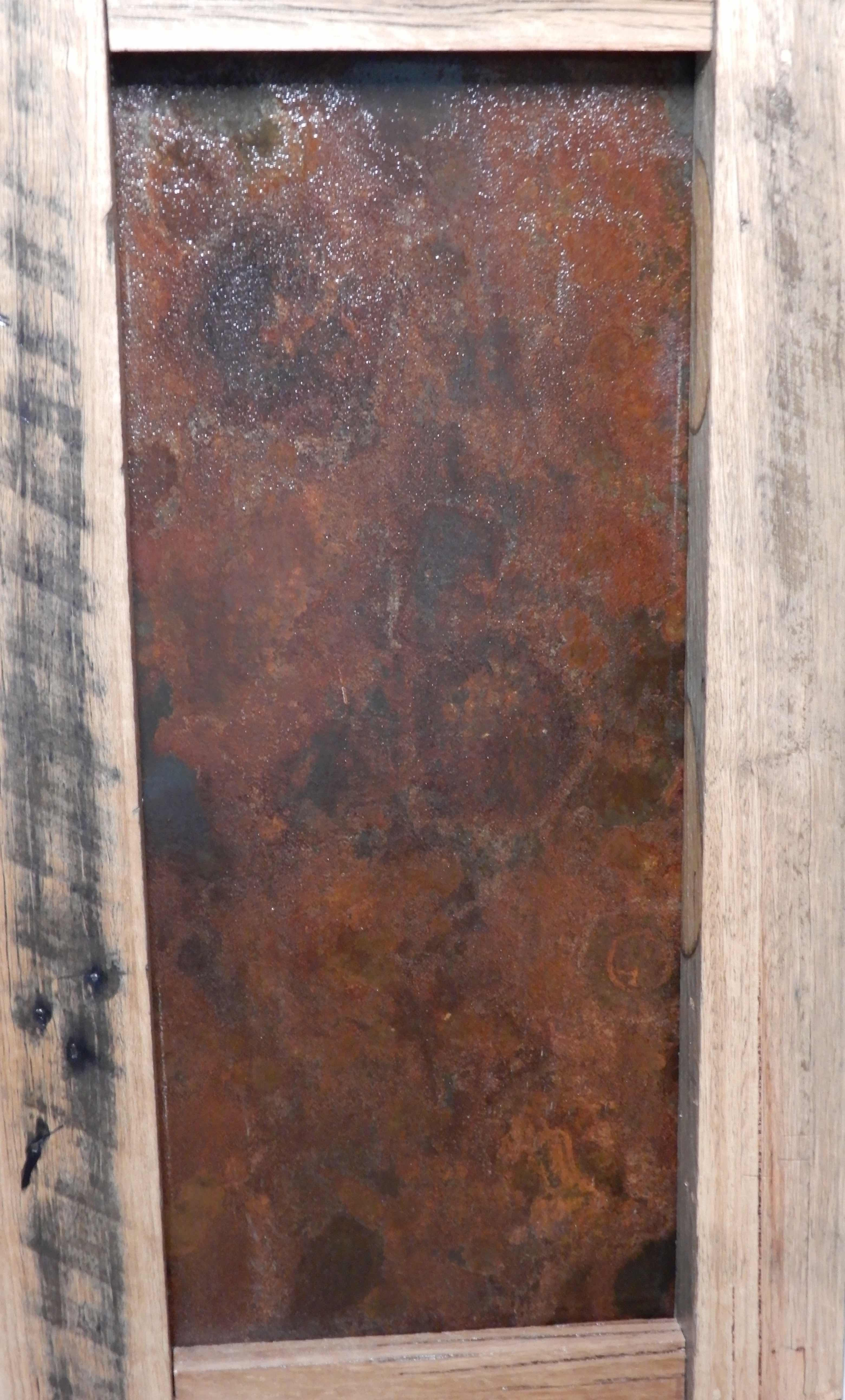 18.rusted steel panel