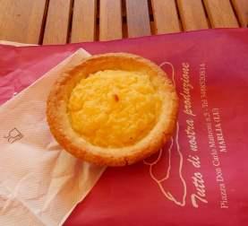 3.custard tart