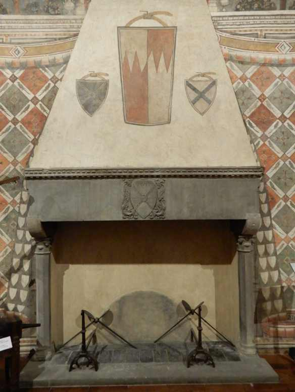 15.Parrot Room fireplace