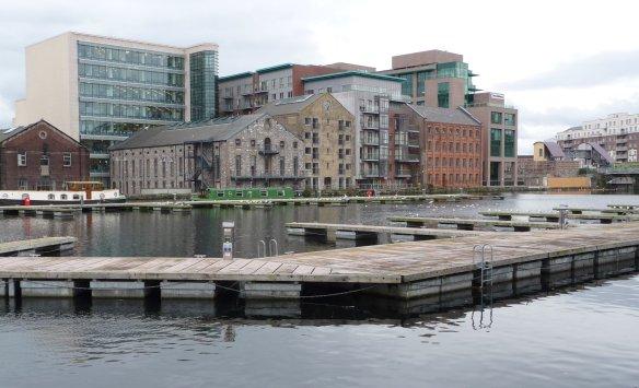 5.Grand Canal Docks, inner basin
