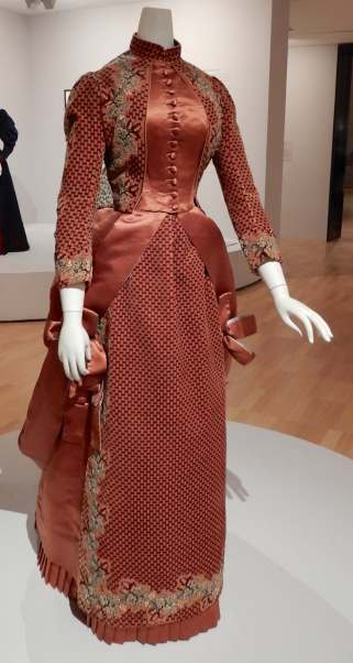 3.Worth, afternoon dress 1890