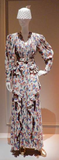 42.Maggy Rouff ,evening dress 1940